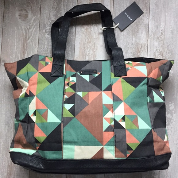 Pistil Bags   No Big Deal Tote Bag In Kaleidoscope186   Poshmark 6bc1acd99b